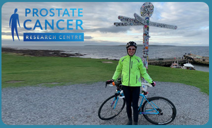 Marie Gould Cycling 1000 miles for Prostate Cancer